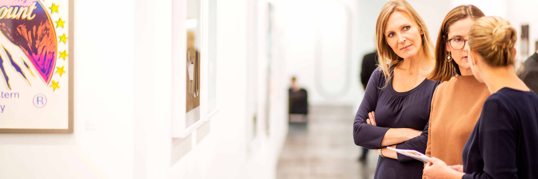 ART VON WERT berät zu Privat- & Unternehmenssammlungen