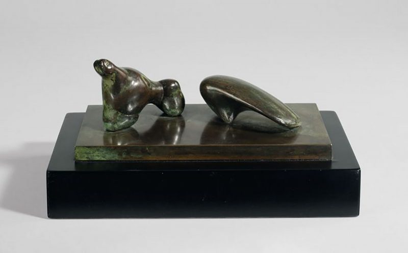 Henry Moore - Two Piece Reclining Figure: Arch