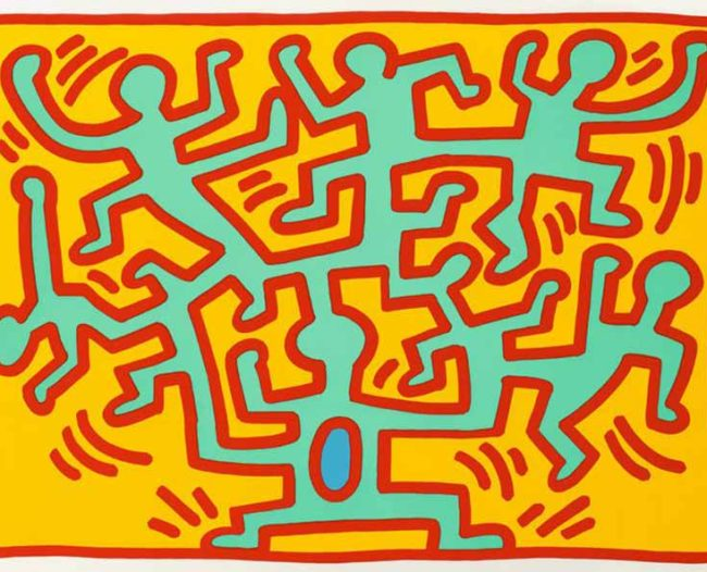 Keith Haring - Growing 4