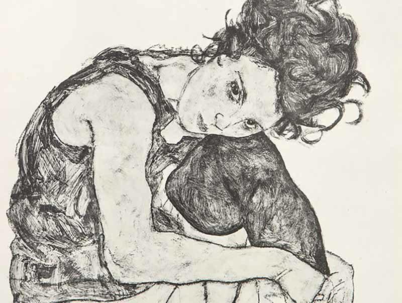 Egon Schiele - Zeichnungen