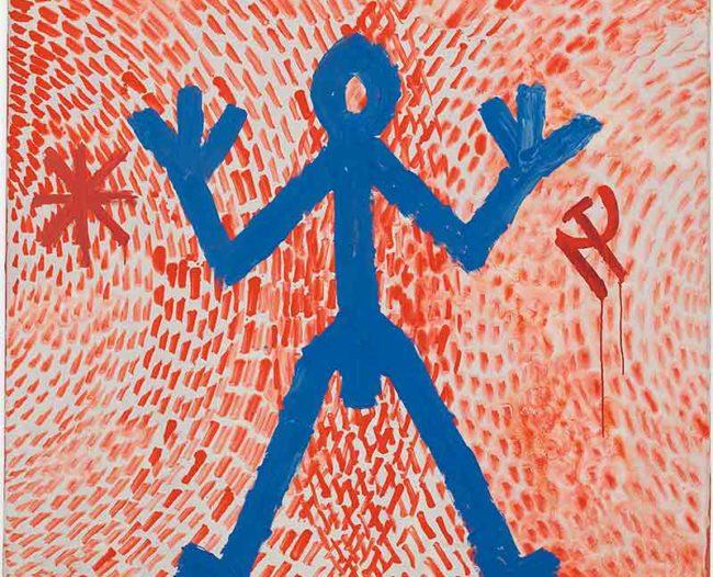Gemälde von A.R. Penck