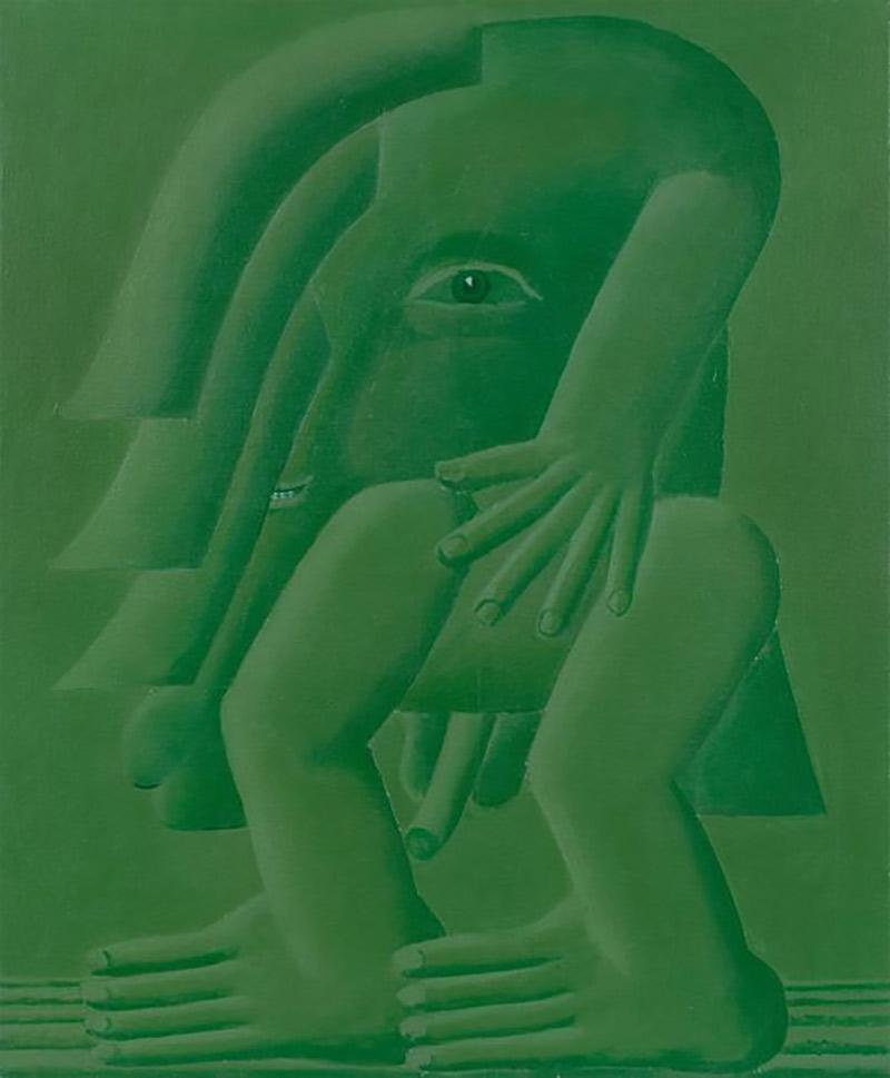 Horst Antes verkaufen, Antes Gemälde verkaufen, Antes Zeichnung verkaufen, Antes Skulptur verkaufen
